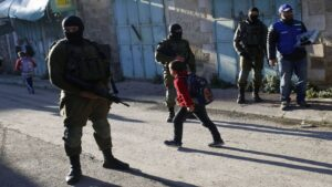 Over four hundred Palestinian youngsters arrested with the aid of using Israeli forces this year