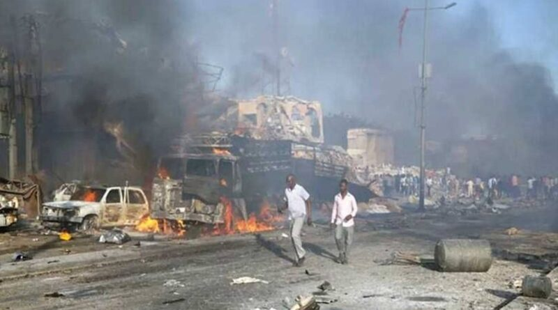 Injuries reported after the explosion, gunfire rock Somalia's capital