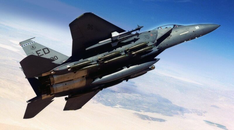Boeing's F-15EX with 'digital backbone' completes its first test flight