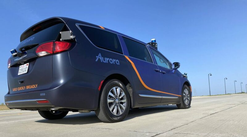 Toyota teams up with Aurora and Denso on Robotaxi development