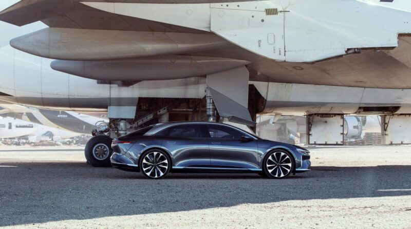 Lucid Motors works publicly before starting to sell EVS